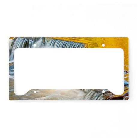 bondFalls_HDR_9X6 License Plate Holder