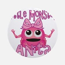 anita-g-monster Round Ornament