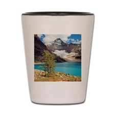 Lake McArthur, the color of turquoise,  Shot Glass