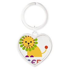 Yesenia-the-lion Heart Keychain