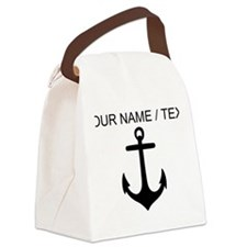 Custom Anchor Canvas Lunch Bag