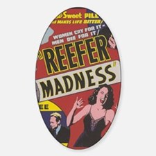 Reefer3g Sticker (Oval)