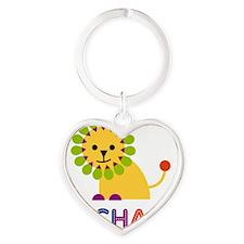 Rachael-the-lion Heart Keychain