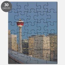 Calgary: City Skyline from Ramsay Area / Da Puzzle
