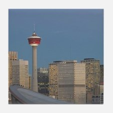 Calgary: City Skyline from Ramsay Are Tile Coaster