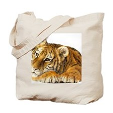 young tiger Tote Bag