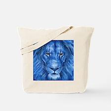 Winter Lion Tote Bag