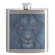 Winter Lion Flask