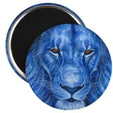 Winter Lion Magnet