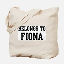 Belongs to Fiona Tote Bag