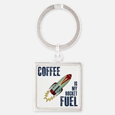 rocket_fuel Square Keychain