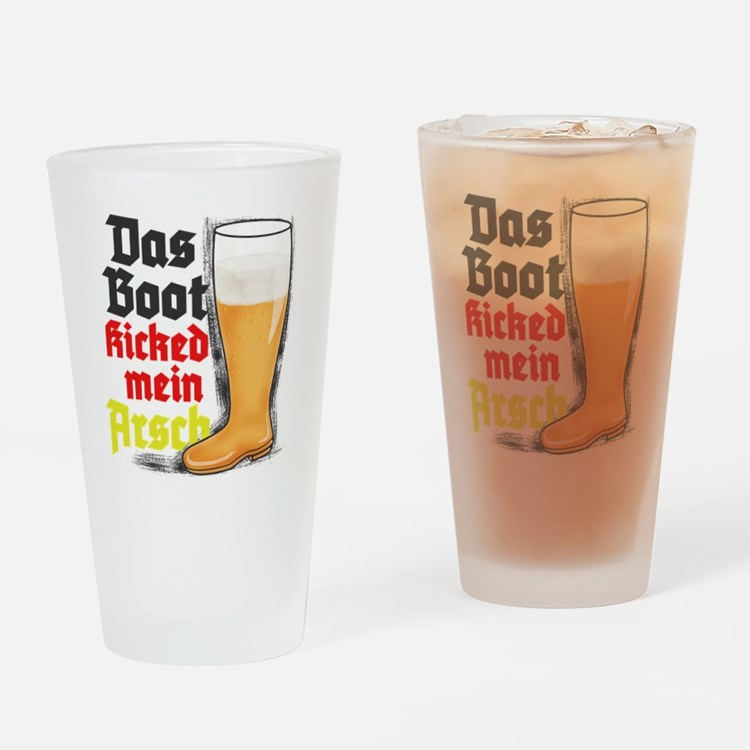 das boot-GC Drinking Glass