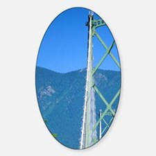 Lions Gate Bridge in Vancouver, Can Decal
