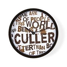 sculler_brown Wall Clock