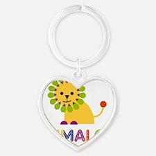 Emmalee-the-lion Heart Keychain