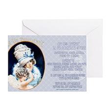 1 A LVP CVRS BIG HAT LADY Greeting Card