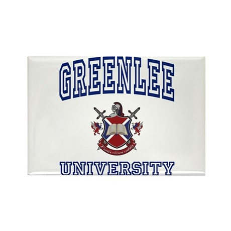 GREENLEE University Rectangle Magnet (100 pack)