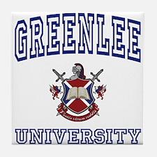 GREENLEE University Tile Coaster