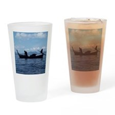 ThailandLongTailBoat1 Drinking Glass