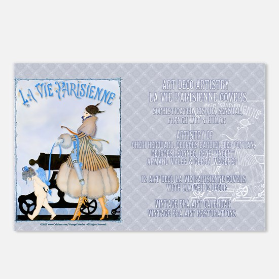 1 A GERDA LADY WAR inpris Postcards (Package of 8)