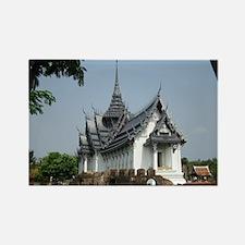 ThailandTemple Rectangle Magnet
