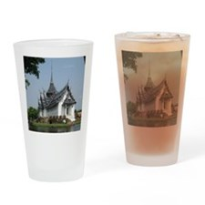 ThailandTemple Drinking Glass