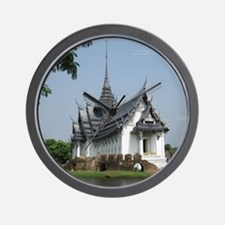 ThailandTemple Wall Clock