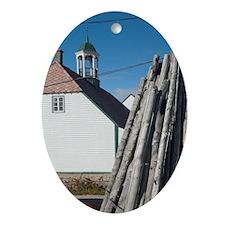 Hopedale (aka Agvituk). Legislative  Oval Ornament