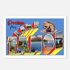 Lake Tahoe Greetings Postcards (Package of 8)