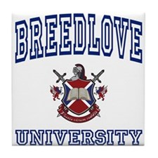 BREEDLOVE University Tile Coaster