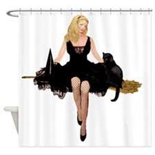 WITCHS TEEN_FINALx copy Shower Curtain