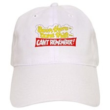 CAN'T REMEMBER Baseball Cap