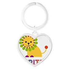 Maritza-the-lion Heart Keychain