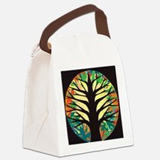 fire-tree-yellow bloom Canvas Lunch Bag
