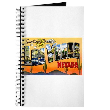 Las Vegas Nevada Greetings Journal