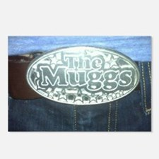 MuggsBeltBuckle13resized Postcards (Package of 8)