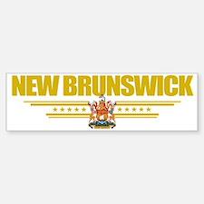 New Brunswick (Flag 10) pocket Bumper Bumper Sticker