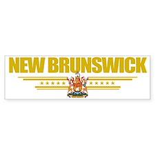 New Brunswick (Flag 10) pocket Bumper Sticker