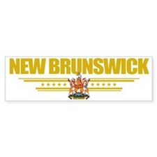 New Brunswick (Flag 10) pocket Bumper Stickers