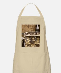 Vancouver. A traditional First Nation basket Apron