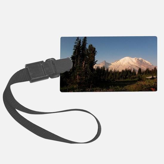 Mount Rainier Luggage Tag