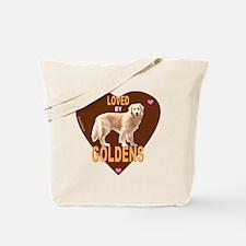 LovedByHeartBrownMerge Tote Bag