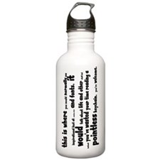 pointless keychain Water Bottle