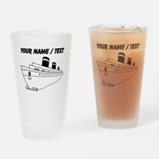 Custom Cruise Ship Drinking Glass