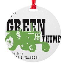 Oliver Green Thumb Ornament