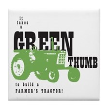 Oliver Green Thumb Tile Coaster