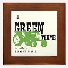 Oliver Green Thumb Framed Tile