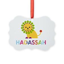 Hadassah-the-lion Ornament