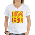 LGBT Hot Pop Women's V-Neck T-Shirt