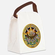 Ostara Pentacle Canvas Lunch Bag